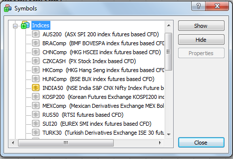 Nifty Futures Realtime Charts with XTB Trader – Metatrader ...