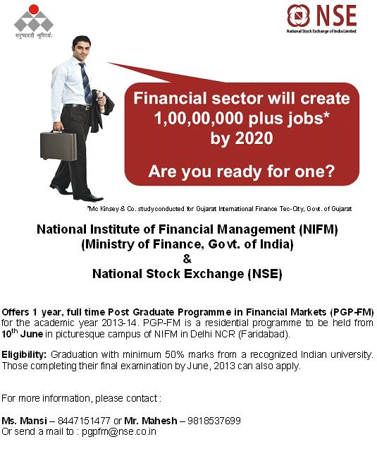 nse post graduage program