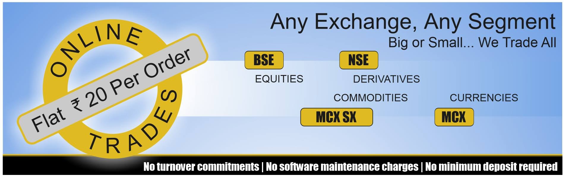 Online brokerage charges comparison india