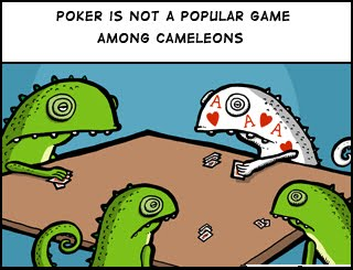 Zero sum poker