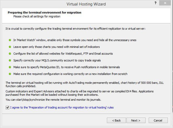 Virtual hosting setup 2
