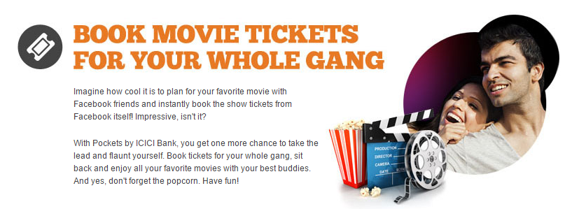 ICICI Pockets Movie Tickets