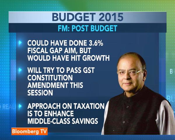 Post Budget Comments