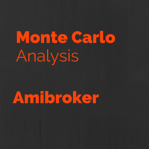 Trading system monte carlo